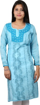 Stylet Embroidered Women's Straight Kurta