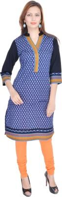 Nishiva Printed Women's Straight Kurta