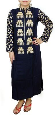 Aditi Fashions Embroidered Women,s Straight Kurta