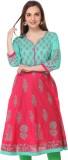 Aamii Printed Women's Straight Kurta (Pi...