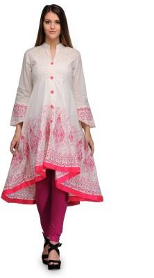 7Soft Colors Solid Women's Anarkali Kurta