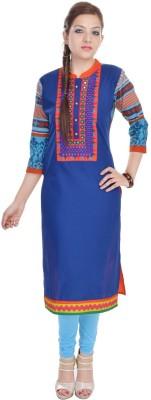 Vasavi Embroidered Women,s Straight Kurta