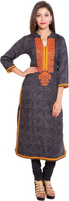 Wiuty Embroidered Women's Straight Kurta