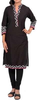 Sale Mantra Chevron Women's Straight Kurta