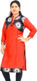 Aarti Collections Printed Women's A-line...