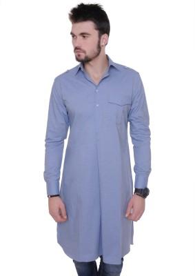 See Designs Solid Men's Pathani Kurta