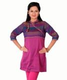 Enah Self Design Women's A-line Kurta (P...