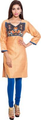 Kanika Creations Embroidered Women's Straight Kurta