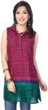Enah Printed Women's A-line Kurta (Pink,...