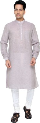 Jadeblue Checkered Men's Straight Kurta