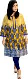 Shonaa Printed Women's Straight Kurta (M...