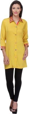 Preeti Tomar Design Studio Solid Women's Straight Kurta