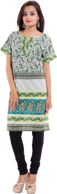 Iradi Fashions Printed Women's Straight Kurta