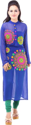 Your Wardrobe Printed Women's Straight Kurta