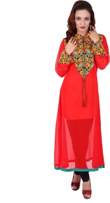 Stylo Baliye Self Design Women's Anarkali Kurta