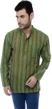 Ecostyle Striped Men's Straight Kurta (L...