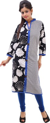 Abhinandan Crafts Printed Women's Straight Kurta