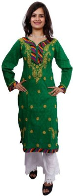 Rzu Embroidered Women's Flared Kurta