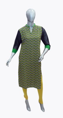 OLIVIAS fashion Graphic Print Women's Straight Kurta