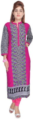 Vasavi Printed Women,s Straight Kurta