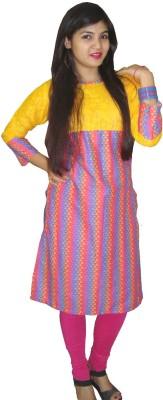 Shambhavi Fashions Self Design Women's A-line Kurta