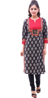Pahal Printed Women's Straight Kurta