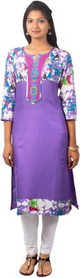 SBS Graphic Print Women's Straight Kurta