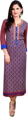 Resham Dori Printed Women's Straight Kurta