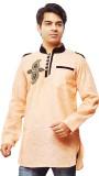 Shahana Self Design Men's Pathani Kurta ...