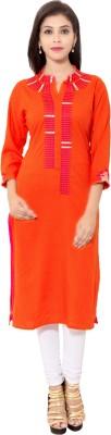 Reet Designers Embroidered Women's Straight Kurta