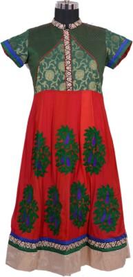 Radhika Goyal Solid, Embroidered, Woven Women's Anarkali Kurta