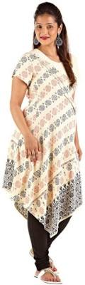 Kriti Ethnic Maternity Printed Women's Straight Kurta