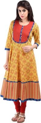 Aarr Printed Women's Anarkali Kurta