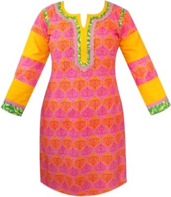 Tarun Industries Printed Women's Straight Kurta