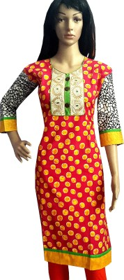Desert Fabrics Embroidered Women's A-line Kurta
