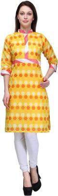 Plume Embellished Women's Straight Kurta