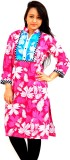 Aarti Collections Floral Print Women's S...