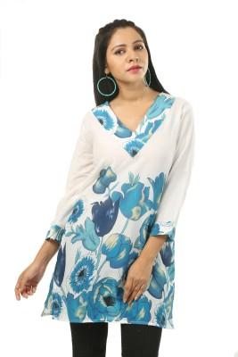 India Inc Floral Print Women's A-line Kurta