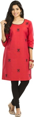 Maybell Embroidered Women's Straight Kurta
