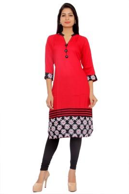 inaraa designs Embroidered Women's Straight Kurta