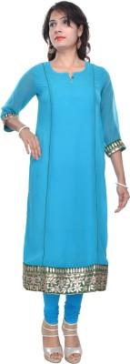 Naksh Jaipur Embellished Women's Straight Kurta