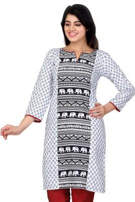 Lifestyle Retail Self Design Women's Straight Kurta