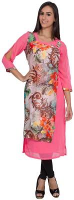 CJ15 Embellished Women's Straight Kurta