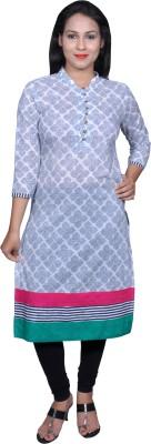 Chidiyadesigns Printed Women's Straight Kurta