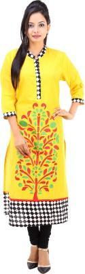 Fuchsia Creation Embroidered Women's Straight Kurta