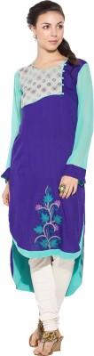 Nikhaar Embroidered Women's Straight Kurta