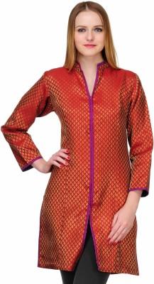 Fuchsia Designs Self Design Women's Straight Kurta