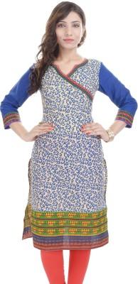 Rangeelo Rajasthan Printed Women's Straight Kurta