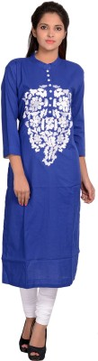 Tripti Creation Embroidered Women's Straight Kurta