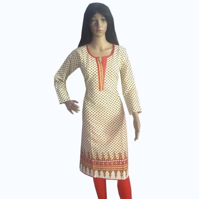 Desert Fabrics Printed Women's Straight Kurta